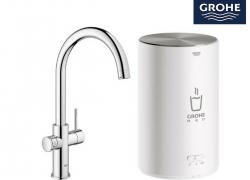 Grohe Red New Duo kokend water kraan voor 599 euro bij iBood