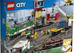 LEGO City Vrachttrein (60198) voor 124 euro bij Bol.com