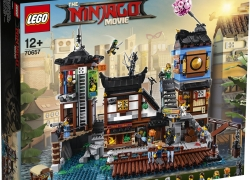 LEGO NINJAGO City haven (70657) voor €149 op Amazon.de