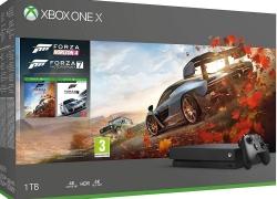 Xbox One X met Forza 7 en Forza Horizon 4 voor €340 bij Amazon