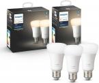 Drie Philips Hue White-lampen (nieuwe versie) voor slechts €31,99 bij Amazon