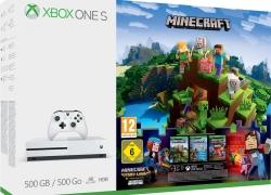 Xbox One S Minecraft voor 199 euro bij Bol.com