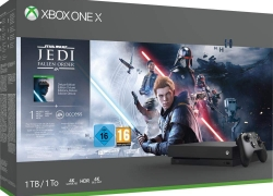 Xbox One X met Star Wars Jedi: Fallen Order voor €299,99 bij Amazon