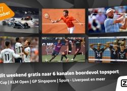 Gratis Ziggo Sport Totaal in september