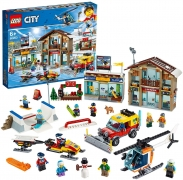 LEGO City 60203 Ski Resort in de aanbieding bij Amazon voor laagste prijs ooit: €54,09